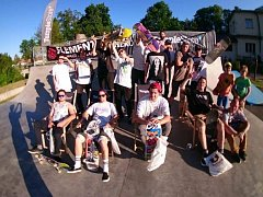 Otevření skateparku v Blatné.