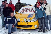 Rally Fans Katovice s Jirkou Trojanem.