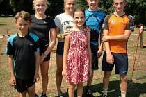 Mladí strakoničtí biatlonisté sbírají úspěchy i v létě.