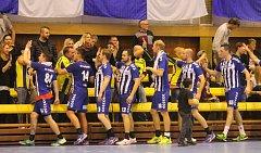 Házenkáři Strakonic prohráli v Kopřivnici rozdílem devíti gólů.