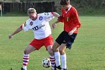 Fotbalisté Westry Sousedovice vyhráli nad Albrechticemi 4:2.