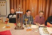 Vyhodnocení turnaje se uskutečnilo ve strakonické restauraci V Ráji. Ceny nejlepším předal starosta města Břetislav Hrdlička.