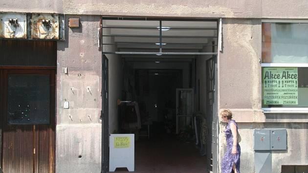 Budova  bývalého kina Nový svět ve Strakonicích.
