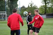 Fotbalisté Junioru odstartovali přípravu.