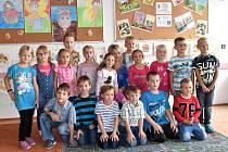 První třída ze ZŠ Volenice