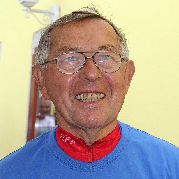 Na kole po světě najel od roku 1991František Šesták zBlatné již téměř 210000kilometrů.