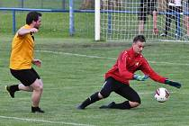 Přípravný fotbal: Junior Strakonice - Vacov 6:1.