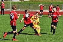 ČLŽ U13: Junior Strakonice - Petřín Plzeň 2:1.