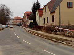 Na hlavní trase severního dopravního půloblouku jsou dokončené hrubé terénní úpravy. Nejbližší dopravní omezení bude v ulici Radomyšlská.
