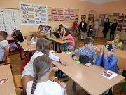 Zahájení školního roku v ZŠ a MŠ Lnáře.