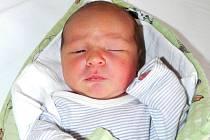 Jakub Kolář, Radomyšl, 3.12. 2015 ve 3.09 hodin, 3500 g. Malý Jakub je prvorozený.