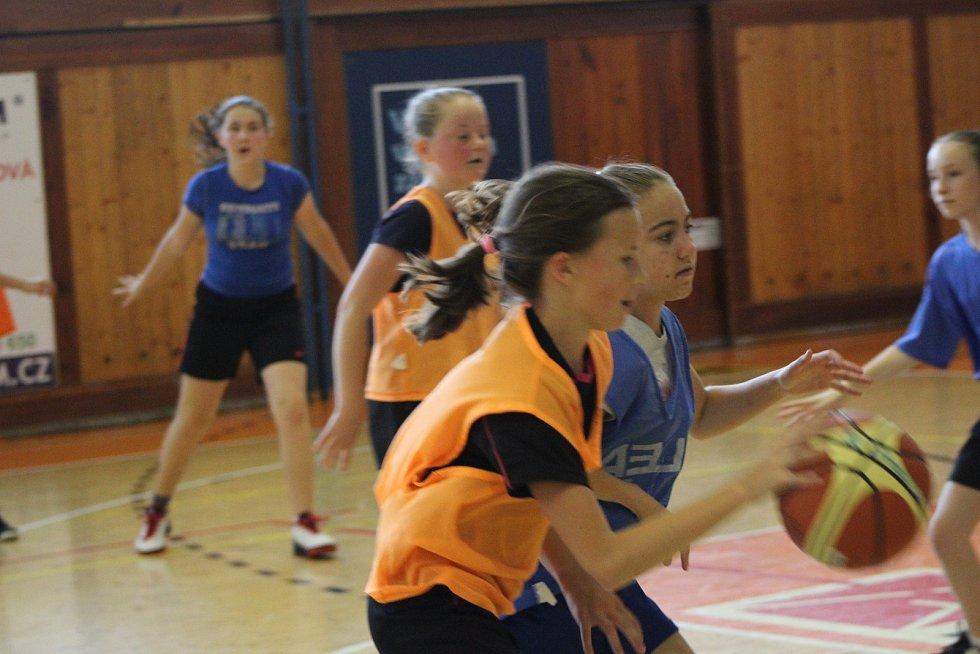 Strakonické basketbalistky připravují tradiční kemp pro nejmenší.