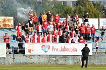 Ve Strakonicích se hrál fotbal pro Jakoubka Jandu.