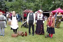 V polovině září se ve Zdíkově uskutečnily 17. Zdíkovské historické slavnosti.