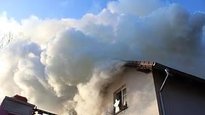Požár ve strakonické Habeši. Podívejte se, co se zde dělo druhý den