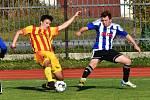 Fotbalový KP: Blatná - Junior Strakonice 1:8.