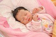 Sofie Langmeierová, Malenice, 30.3.2018 ve 3.55 hodin, 2950 g. Malá Sofie je prvorozená.