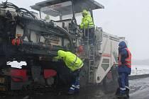 Začátek prací na vodňanské obchvatu špatné počasí nijak neovlivnilo