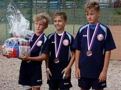 Mladší žáci Radomyšle skončili na republice bronzoví.