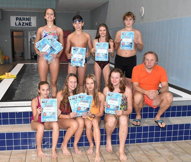 Medailoví plavci ze Strakonic