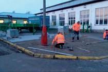 Opravy chodníků mají na starosti Technické služby města Blatná.