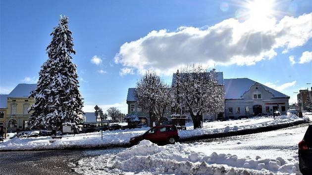 Zimní Volyně 4. února.