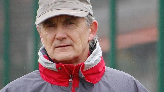 Trenér Chelčic František Šobor.