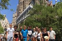 Na dva týdny vyrazili na zkušenou do Španělska studenti volyňské průmyslovky v závěru školního roku.