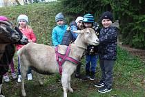 Děti v MŠ měly zvláštní návštěvu.