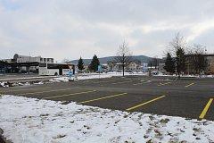 Provizorní parkoviště začne fungovat v pátek 23. února