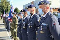 Strakoničtí vojáci si slavnostním nástupem připomněli dvě výročí, důležitá pro vojsko pozemní protivzdušné obrany.