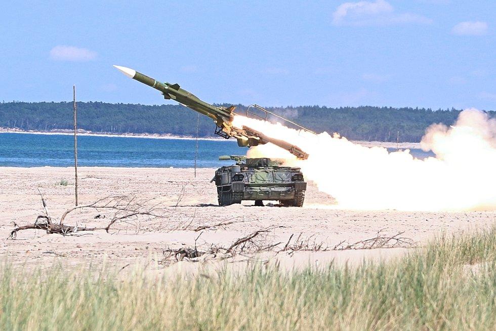 Vyvrcholením výcviku vojáků bývají bojové střelby z protiletadlového systému 2K12 KUB. Poslední střelby proběhly v roce 2019 v Polsku.
