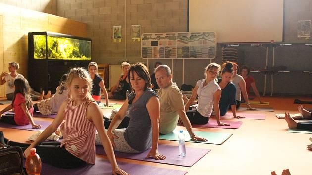 Vodňany - První Jógový den se uskutečnil v neděli 24. června ve Vodňanském Mezinárodním environmentálním, vzdělávacím a poradenském středisku u příležitosti Mezinárodního dne jógy.