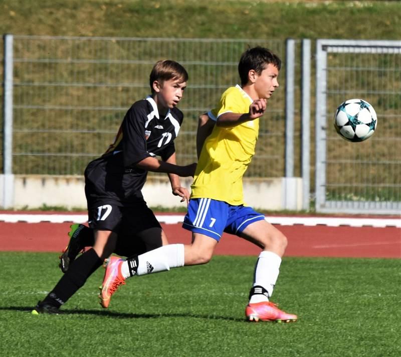 KP starších žáků: Junior Strakonice - Šumavan Vimperk 3:4.
