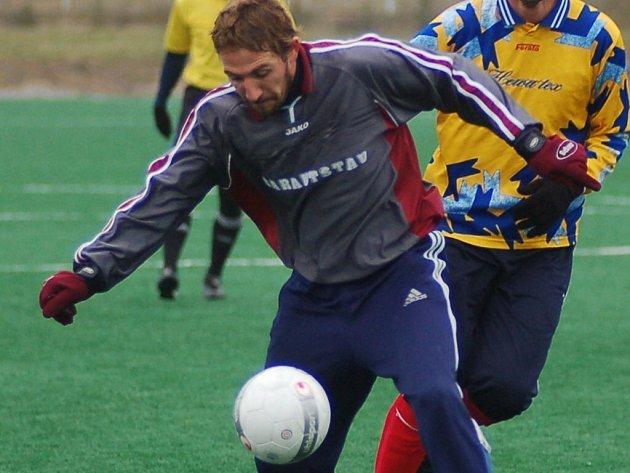 Patrik Káník byl v přípravě nejlepším střelcem týmu, dal sedm branek.