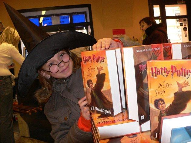 Pro knihu si přišla i Dominika Pašková.