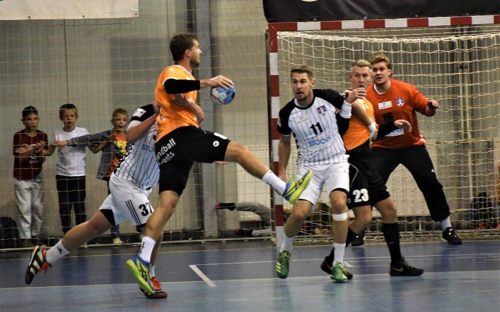 HBC Strakonicce - Spartak Chodov 24:35 (11:17).
