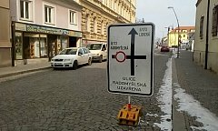 Mrazy mohou prodloužit uzavírku ulice Radomyšlská.