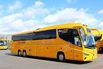 Žlutý autobus Student Agency bude od 12. června jezdit ze Strakonic do Pasova