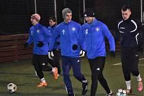 Katovičtí fotbalisté odstartovali přípravu na jaro.