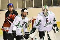 Hokejová KL: HC Strakonice - Samson ČB 10:1.
