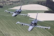 Strakonické nebe ovládly bojové letouny L-159 ALCA.