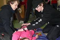 Mladí záchránaři ukazovali, co umí.