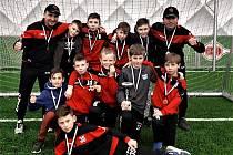 Mladí fotbalisté Junioru skončili v Zimní Wolf lize na třetím místě.