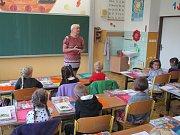 První školní den, I.C ZŠ Vodňany.