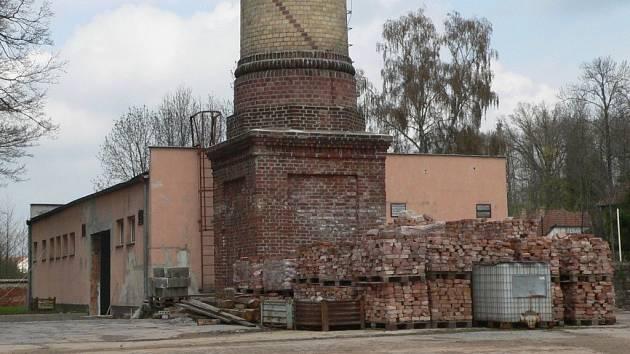 Areál bývalé kotelny v objektu Mototechny.