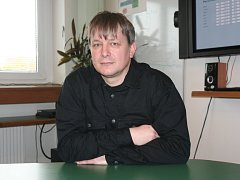 Ředitel Radek Motl.
