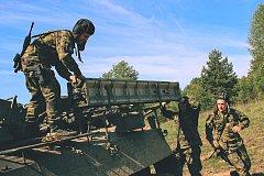 Strakoničtí vojáci se připravovali na bojové střelby z protiletadlových raketových kompletů.