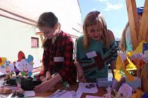 Páťáci z Volyně si vyzkoušeli podnikání.