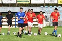 Fotbalisté Junioru Strakonice v pondělí odstartovali přípravu na novou sezonu. Foto: Jan Škrle